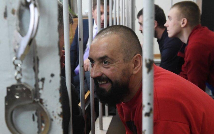 Rusijos sulaikyti Ukrainos jūreiviai