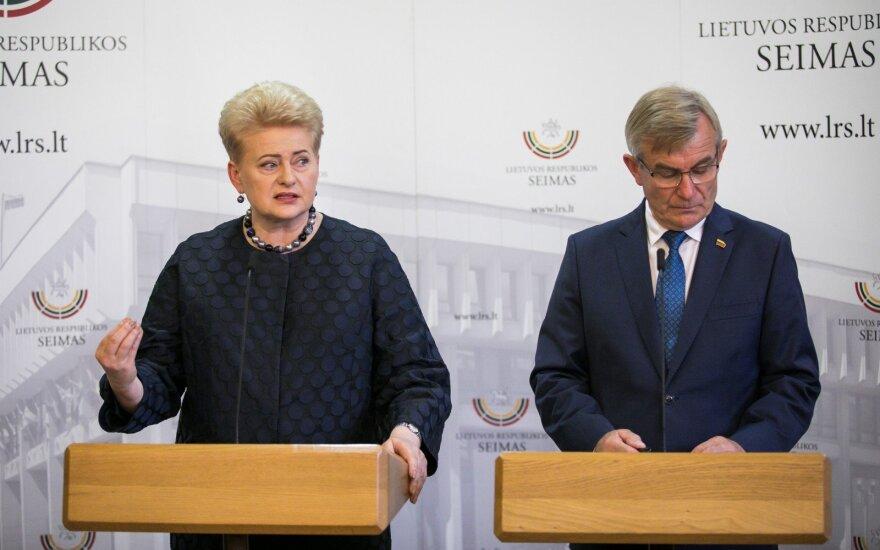 Dalia Grybauskaitė, Viktoras Pranckietis
