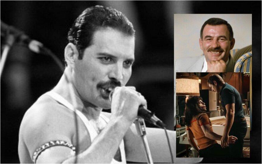 Freddie Mercury ir Jimas Huttonas