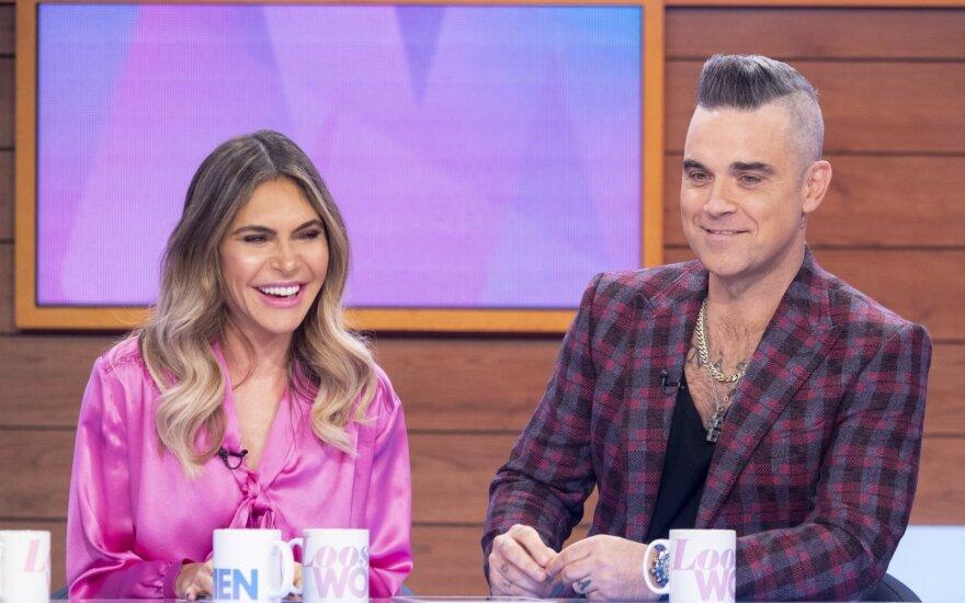 Robbie Williamsas su žmona Ayda Williams