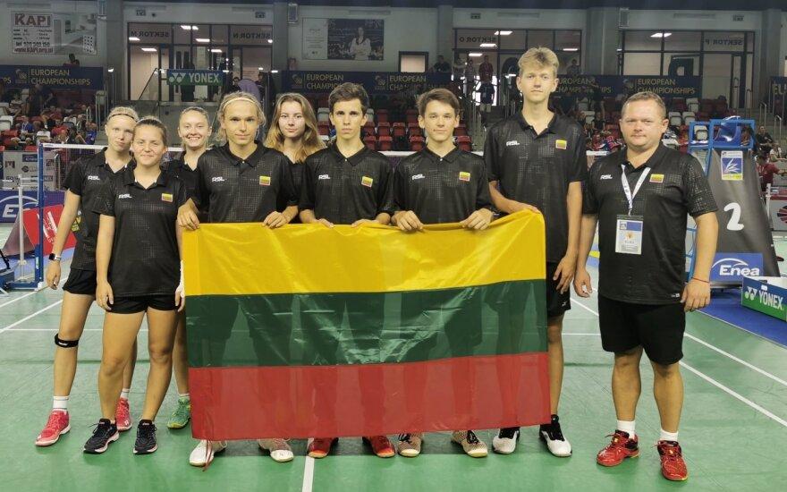 Lietuvos jaunių (iki 17 metų) badmintono rinktinė