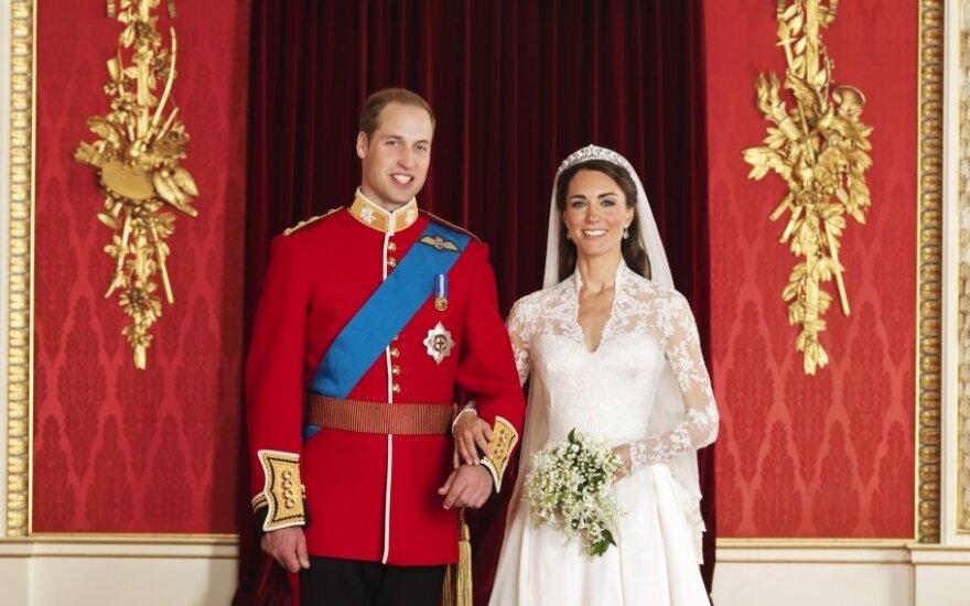 Oficiiali vestuvių nuotrauka: princas Williamas ir Kate Middleton