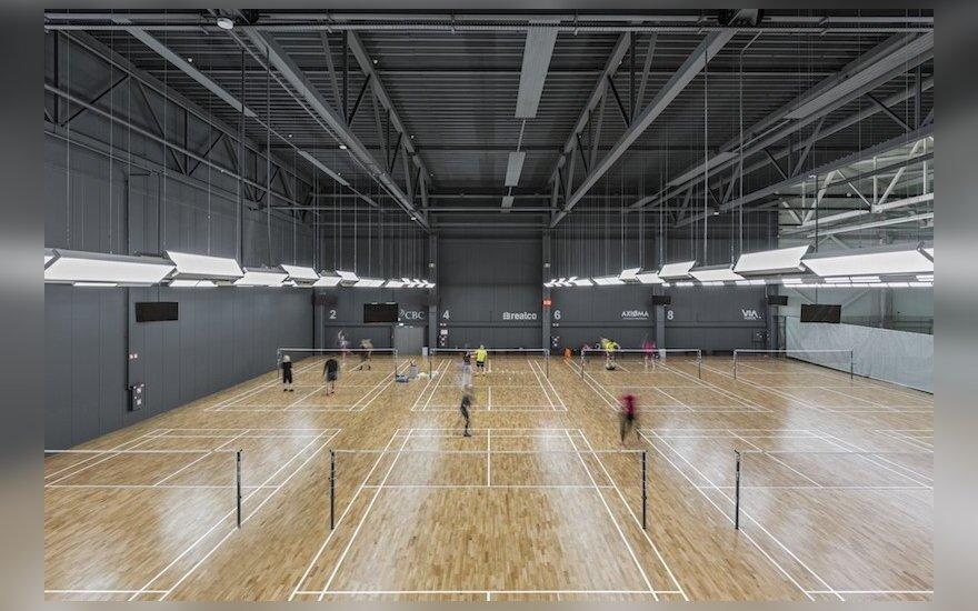 Badmintonas DELFI sporto centre
