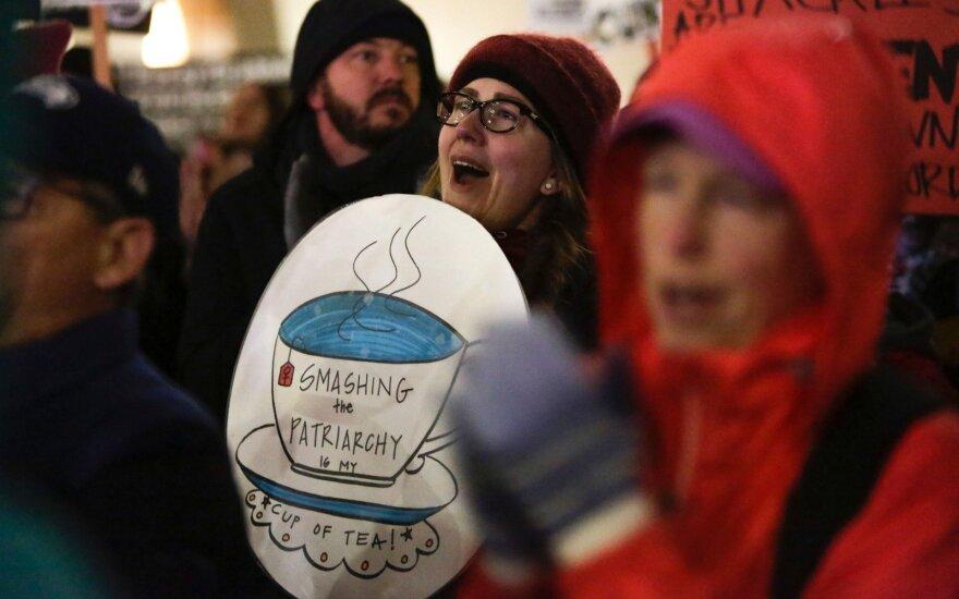 Moterų teisių aktyvistų protestas