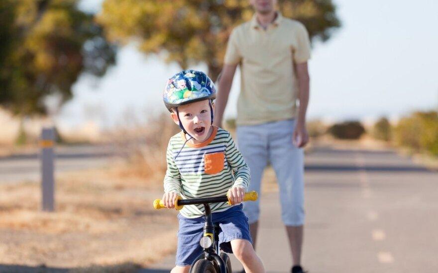 Sunkumų nebijantys vaikai: kaip tokius užauginti?