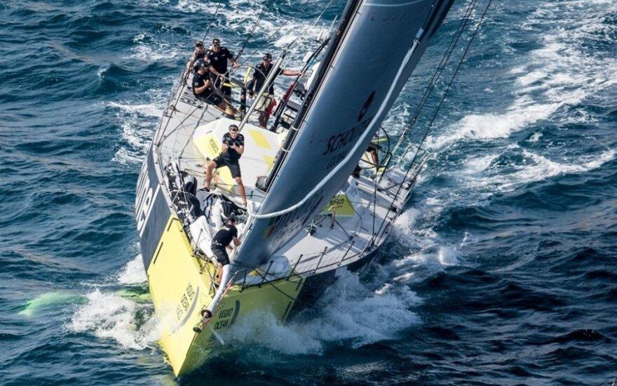 """""""Volvo Ocean Race"""" varžybos"""