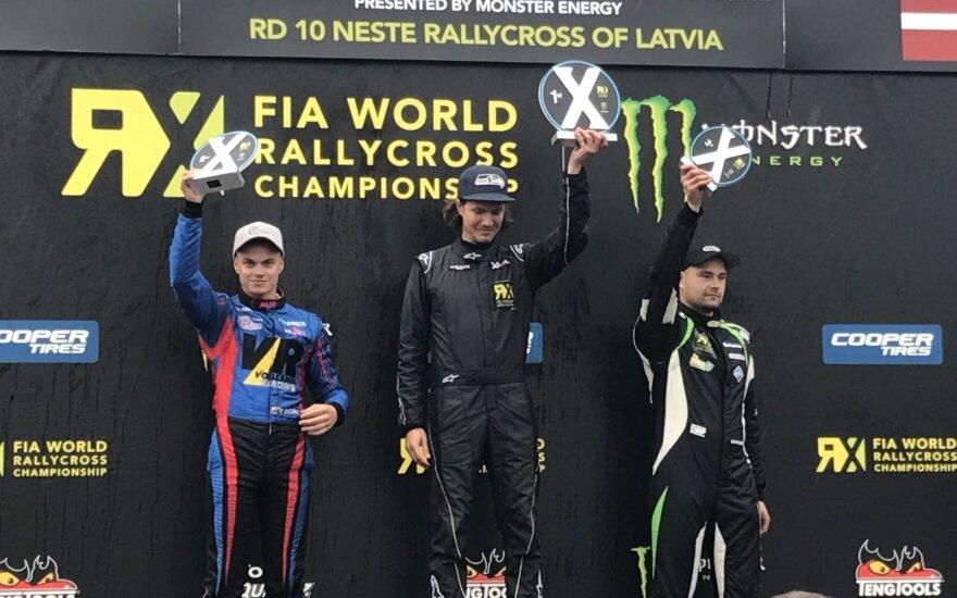 Rokas Baciuška vos antrose savo lenktynėse užėmė antrą vietą