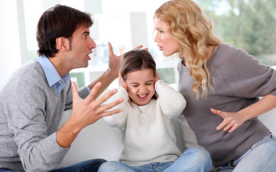 Tėvų skyrybos ir vaikai