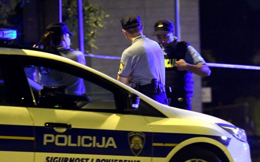 Kroatija, nusikaltimo vieta