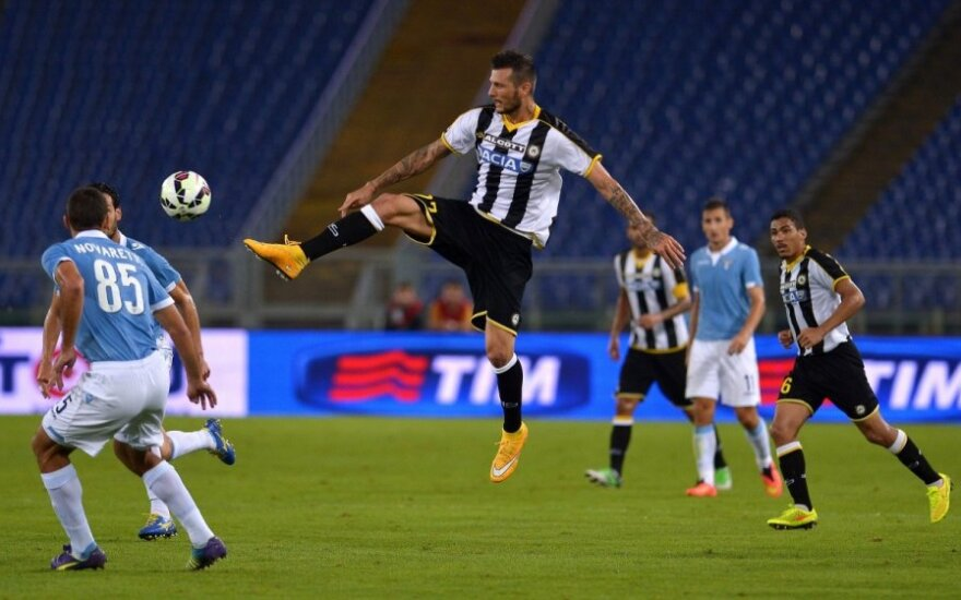 """Cyrilas Thereau (""""Udinese"""")"""