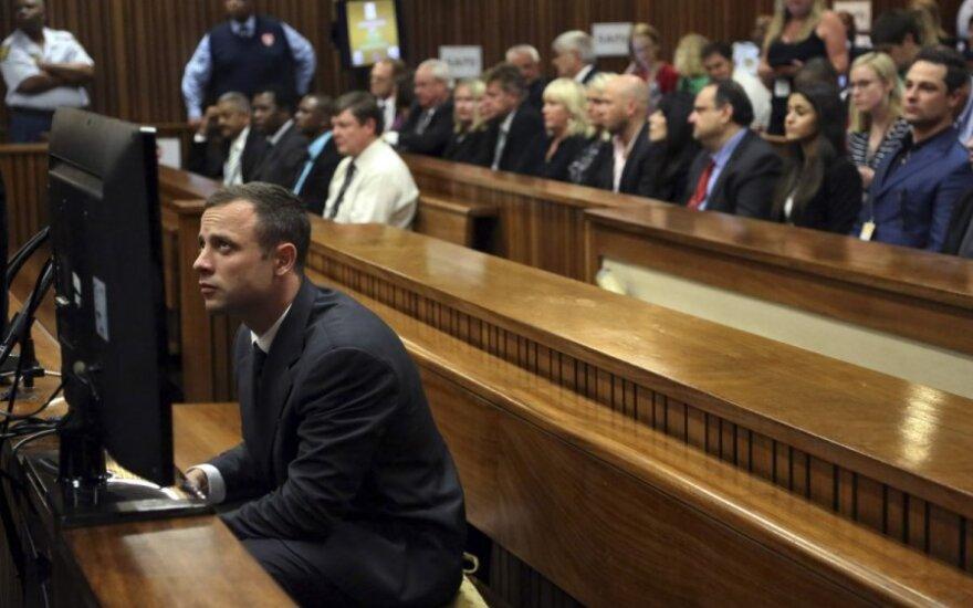 O. Pistorius teismas