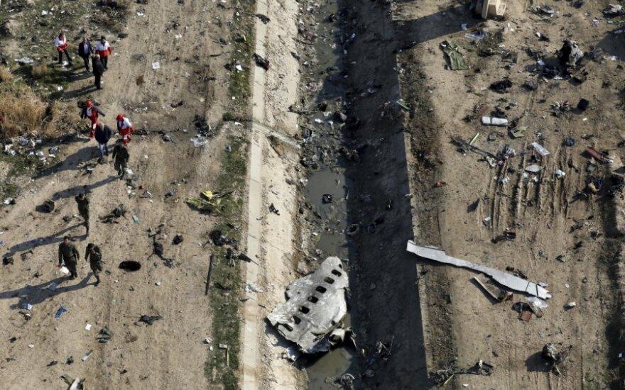 Švedija dėl lėktuvo katastrofos iškvietė Irano ambasadorių