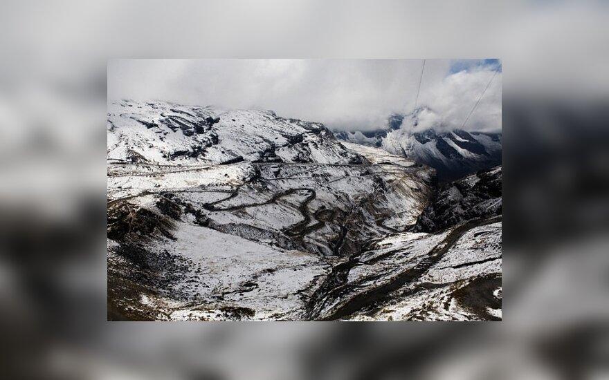 Pavojingiausias pasaulyje kelias Bolivijoje