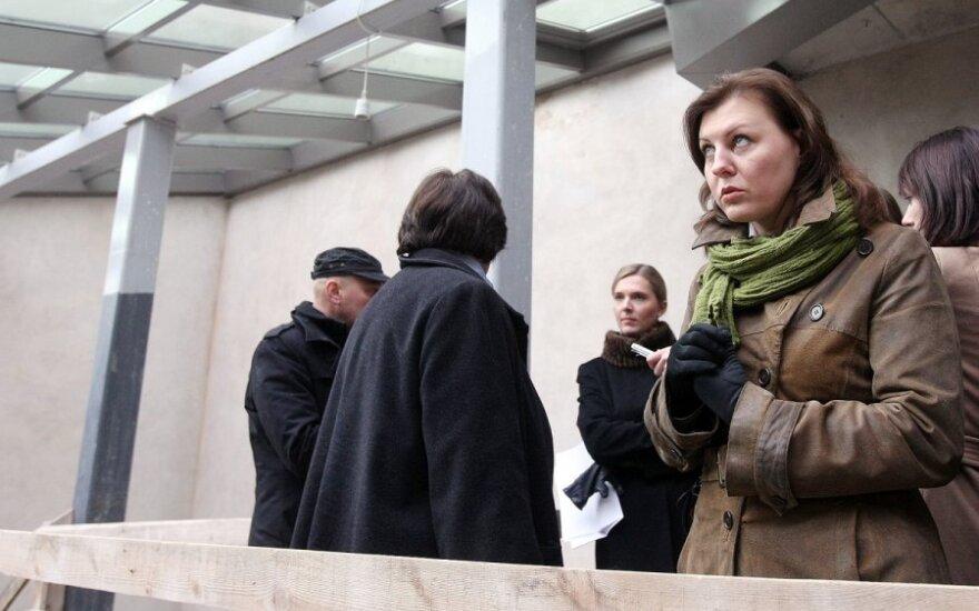 Seimo etikos sargai kreipiasi į policiją dėl D.Meiželytės elgesio
