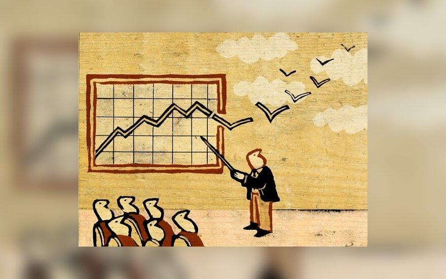 """Danų bankas ragina investuotojus pasirengti vasaros pabaigoje prasidėsiančiai """"turbulencijos zonai"""""""