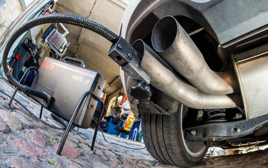 Dyzeliniams automobiliams Vokietijoje įsigalioja nauji draudimai