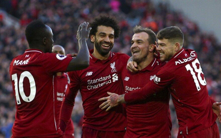 Liverpool futbolininkai