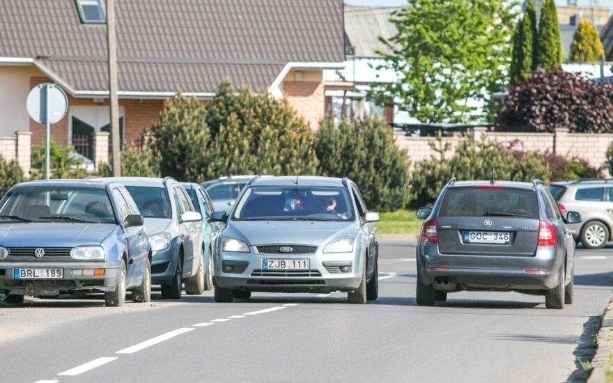 Vairuotojo sumišimas Kaune: tai dabar visi važiuos prieš eismą?