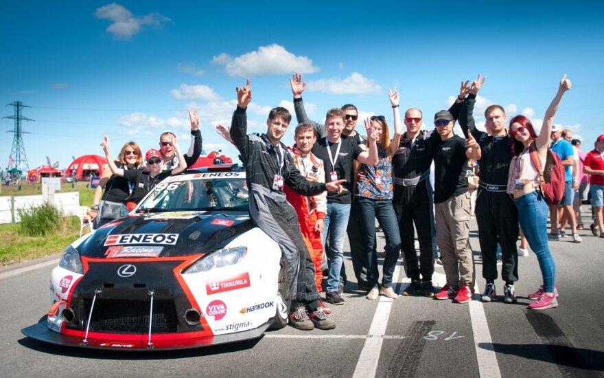"""""""Eneos 1006 km"""" lenktynėse """"Lexus Team LT"""" į finišą lėkė """"be stabdžių"""""""