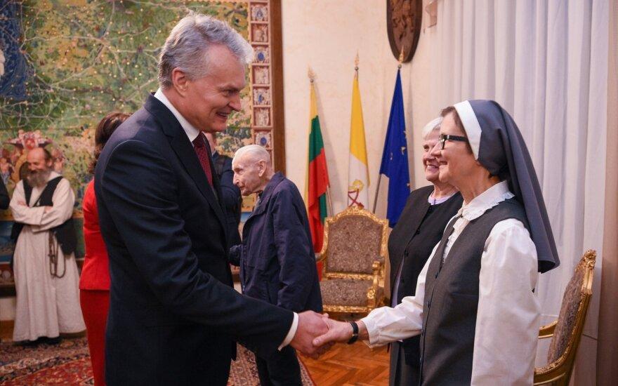 Nausėda susitiks su popiežiumi: padėkos už maldas Lietuvai