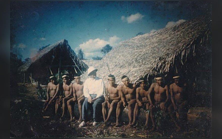 Lietuvis 1970-aisiais fotografavo Amazonės gentis: autentiška nuotraukų kolekcija (II)