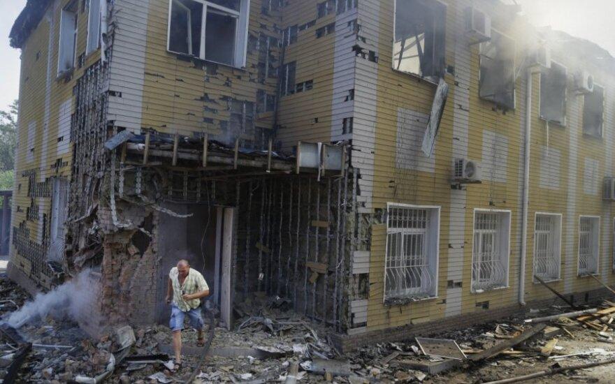 Separatistai minosvaidžiais apšaudo Ukrainos pajėgas