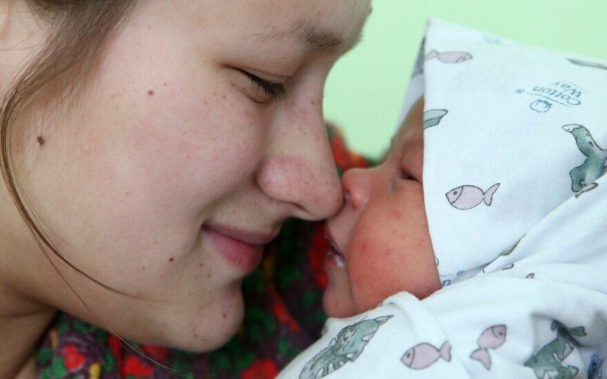 Dauno sindromą turinčio vaiko mamos išpažintis: tik po mėnesio apie tai pasakiau vyrui