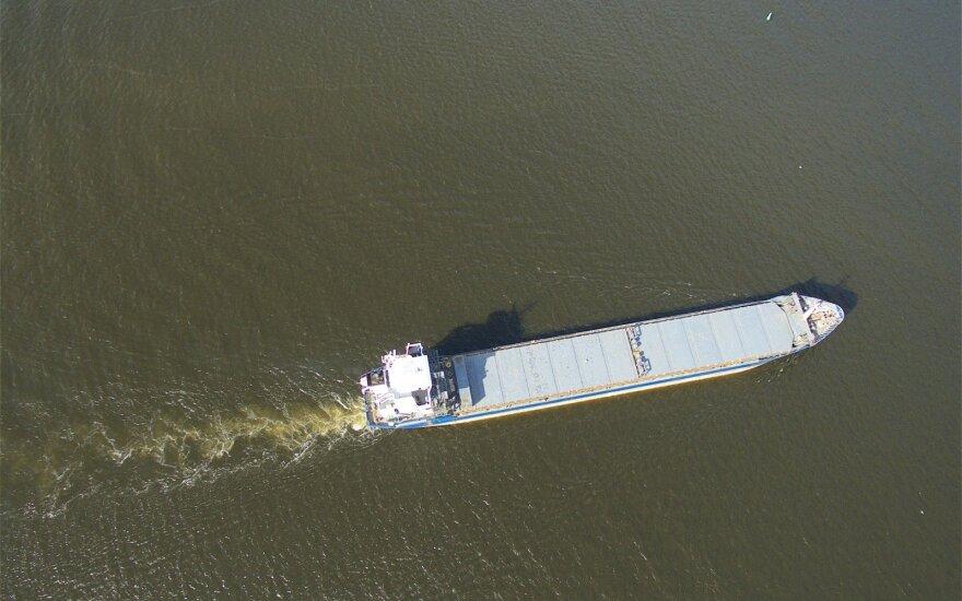 A ship in Baltic Sea
