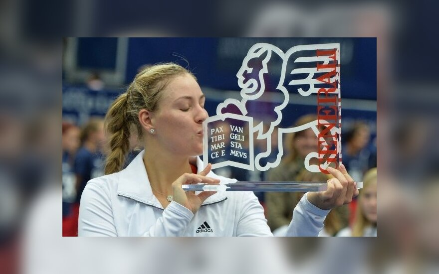Angelique Kerber laimėjo turnyrą Austrijoje