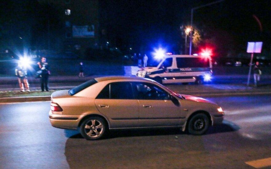 Vilniuje labai sunkiai sužalotas pėsčiasis, automobilyje buvusius žmones ištiko šokas