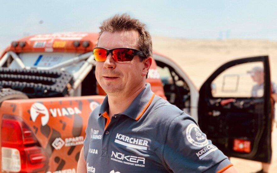 Dakaras 2018: Antano Juknevičiaus komandos testų diena