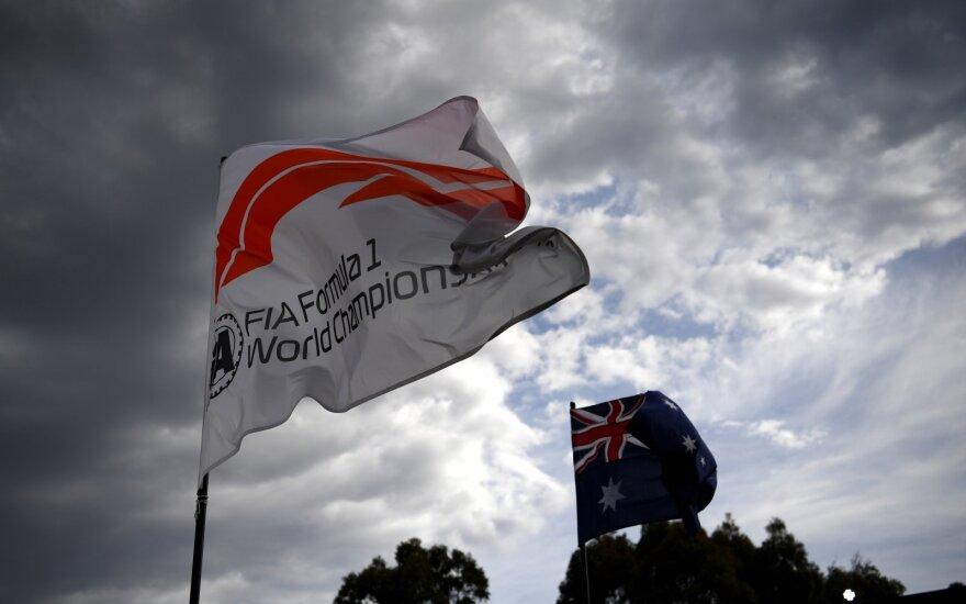 Formulės-1 etapas Melburne vėl neįvyks