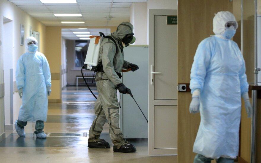 Baltarusijoje per parą nustatyti 947 nauji COVID-19 atvejai, mirė penki žmonės
