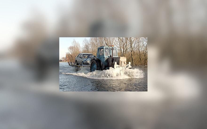 Potvynis Nemuno žemupyje