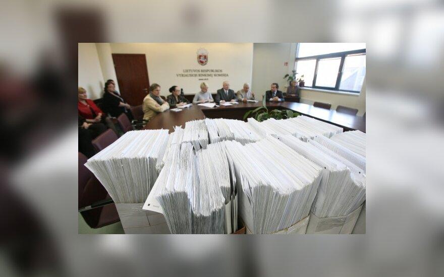 Iniciatyvinė grupė dėl Seimo paleidimo nesurinko reikiamų parašų