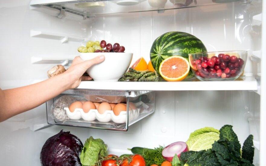 Talpus, bet ne tuščias: N. Marčėnaitės ir G. Baikštytės receptai, kaip išlaikyti šaldytuvą tvarkingą