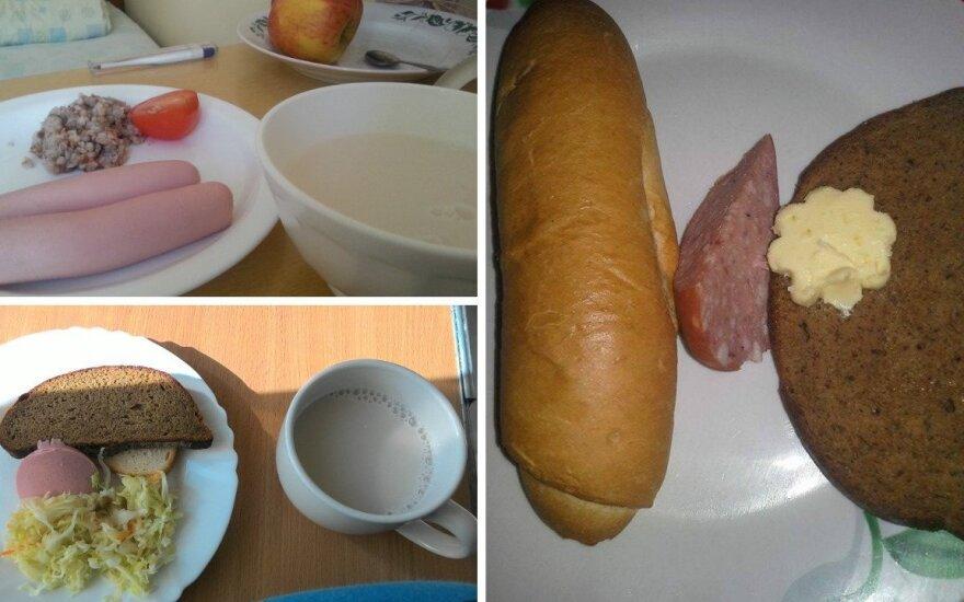 Ar pelnytai kraupstama nuo maisto ligoninėse: mitybos specialistės komentaras su nuotraukomis