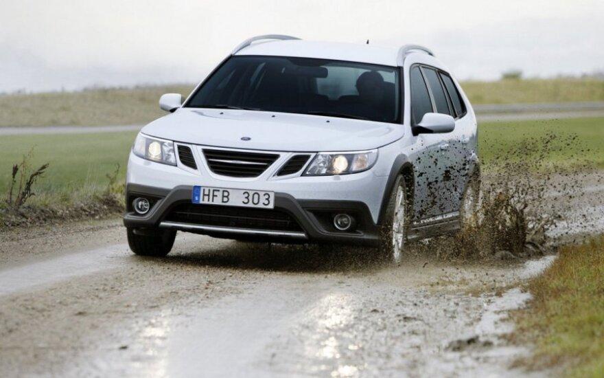 """""""Saab"""" atnaujina automobilių gamybą"""