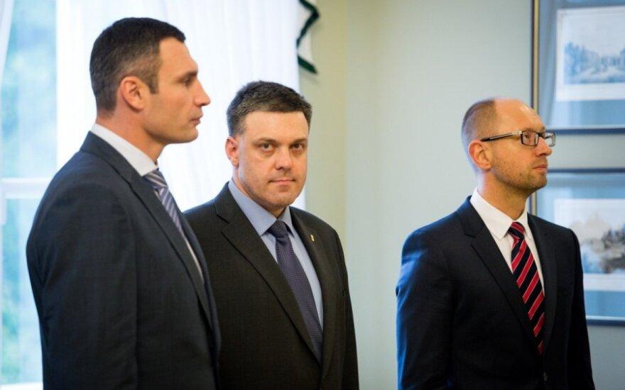 Ukrainos opozicijos lyderiai nesutaria, kaip reikia keisti Konstituciją