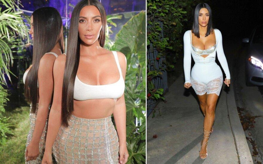 Kim Kardashian drabužius pirmiausiai pasimatuoja kiti žmonės: už šio keisto sumanymo slypi genialus planas