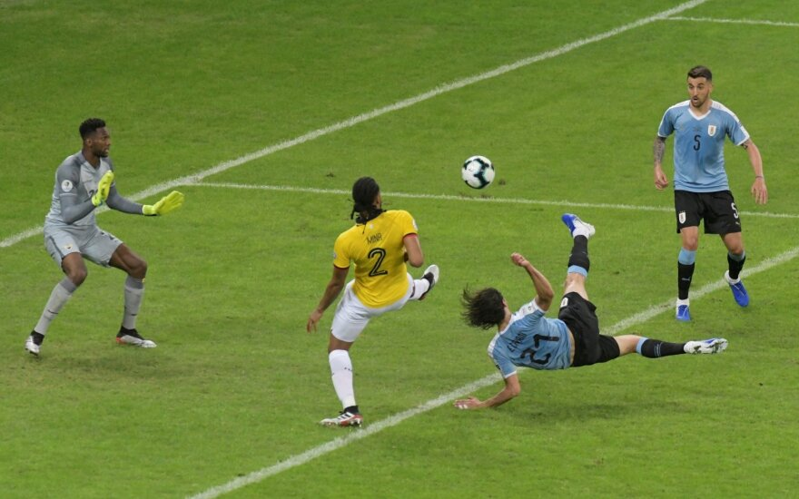 Copa America 2019, Urugvajus - Ekvadoras