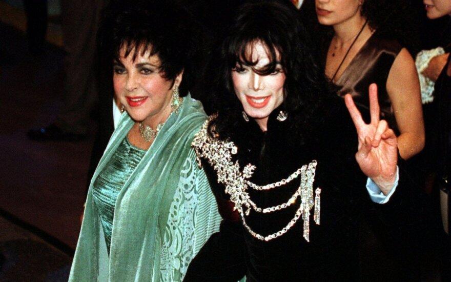 Elizabeth Taylor ir Michaelas Jacksonas