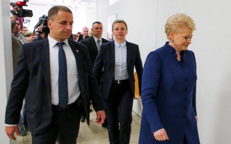D. Grybauskaitė žengė žingsnį, kurio žengti nebuvo galima