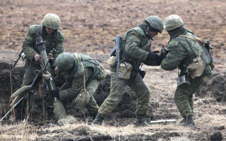 Ukraina kaltina Rusijos karius naudojant draudžiamą ginkluotę