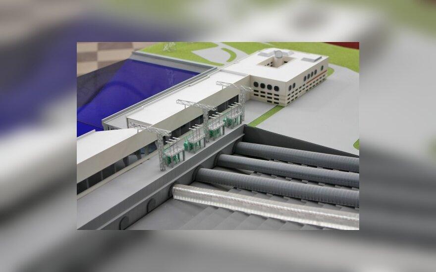 Kruonio HAE bus statomas penktasis blokas