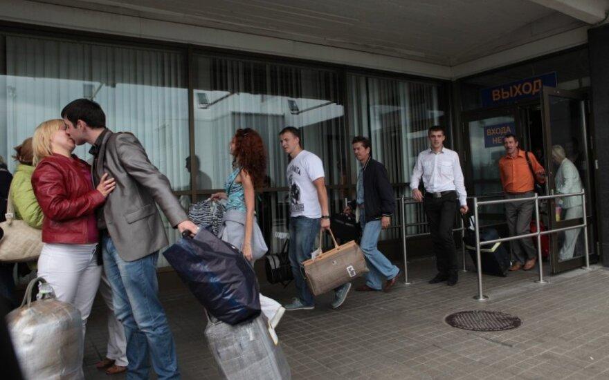 Rusų turistų srautas išseko