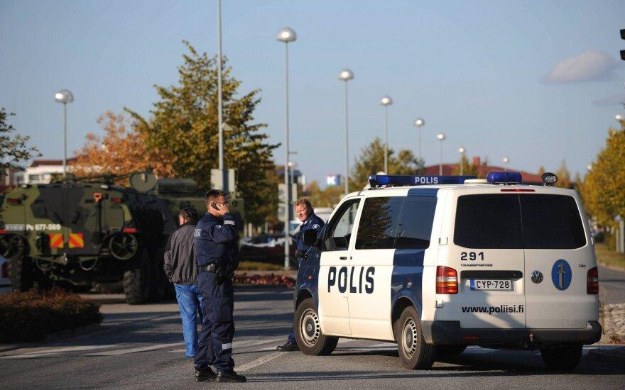 Suomijos policija rado daug sprogmenų viename iš butų Helsinkyje