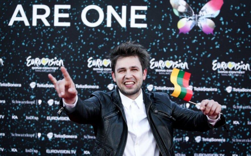 """Apklausa atskleidė, jog Lietuva netiki A. Pojavio sėkme """"Eurovizijoje"""""""