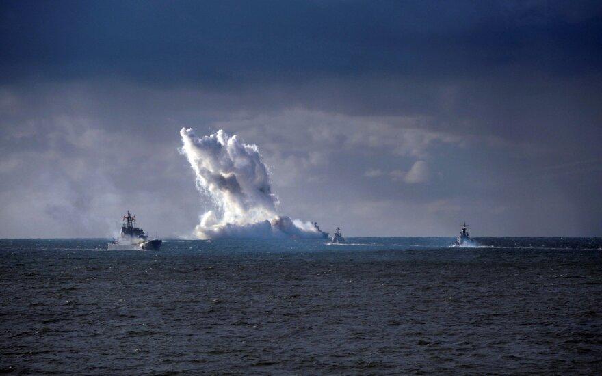 Rusijos Baltijos laivyne – nemalonus incidentas