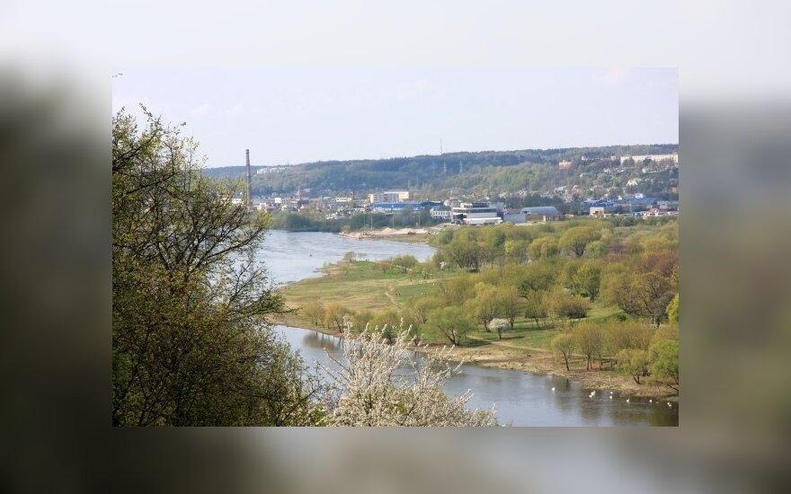 Kaunas planuoja naujus pėsčiųjų tiltus